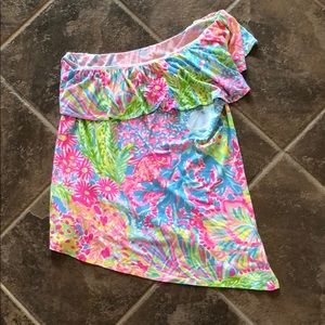 💛Lily Pulitzer off the shoulder top